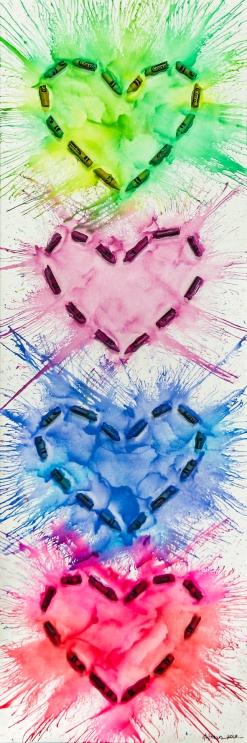 Heartwork - Quad Pastel