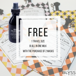 Instagram Promo post for Blyss Salon