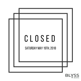 Instagram Closed post for Blyss Salon