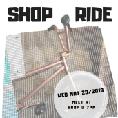 Shop Street BMX Ride for Harvester Bikes